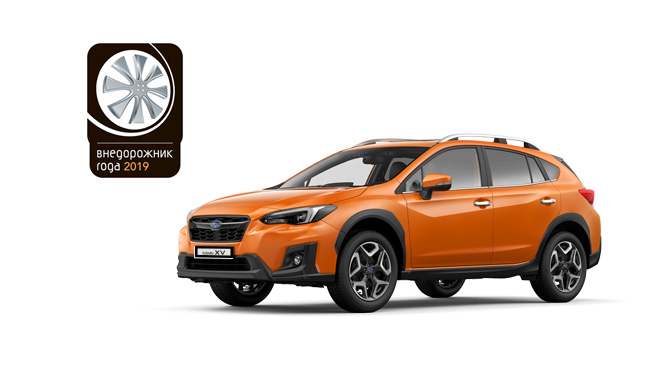 Subaru XV признан лучшим компактным кроссовером