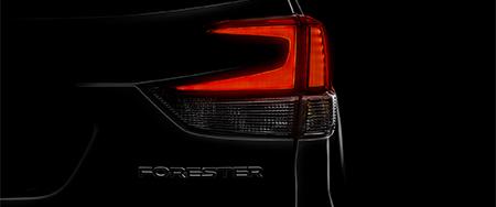Subaru представит новое поколение Forester на автосалоне в Нью-Йорке